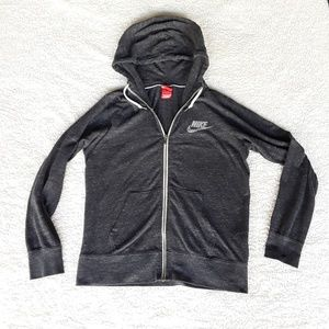 Nike Jackets & Coats - Nike | Heathered Gray lightweight athletic jacket